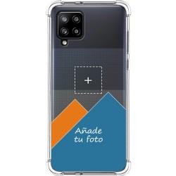 Personaliza tu Funda Silicona Anti-Golpes Transparente con tu Fotografía para Samsung Galaxy A42 5G personalizada