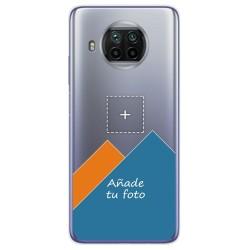 Personaliza tu Funda Gel Silicona Transparente con tu Fotografia para Xiaomi Mi 10T Lite dibujo personalizada