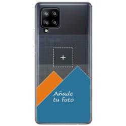 Personaliza tu Funda Pc + Tpu 360 con tu Fotografia para Samsung Galaxy A42 5G dibujo personalizada