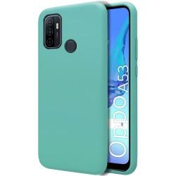 Funda Silicona Líquida Ultra Suave para Oppo A53 / A53s color Verde