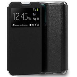 Funda Libro Soporte con Ventana para Xiaomi POCO M3 / Redmi 9T Color Negra