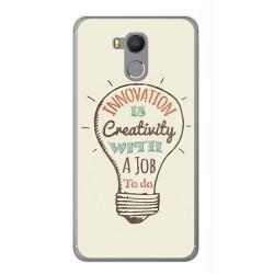 Funda Gel Tpu para Oukitel U15 / U15 Pro Diseño Creativity Dibujos