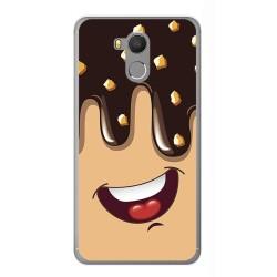 Funda Gel Tpu para Oukitel U15 / U15 Pro Diseño Helado Chocolate Dibujos
