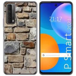 Funda Gel Tpu para Huawei P Smart 2021 diseño Ladrillo 03 Dibujos