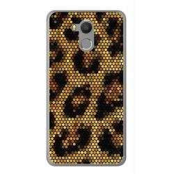 Funda Gel Tpu para Oukitel U15 / U15 Pro Diseño Leopardo Dibujos