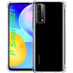 Funda Gel Tpu Anti-Shock Transparente para Huawei P Smart 2021