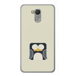 Funda Gel Tpu para Oukitel U15 / U15 Pro Diseño Pingüino Dibujos