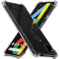Funda Gel Tpu Anti-Shock Transparente para Google Pixel 4a
