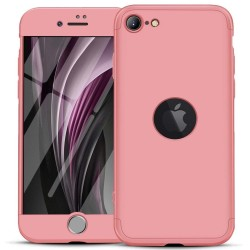 Funda Carcasa GKK 360 para Iphone SE 2020 color Rosa