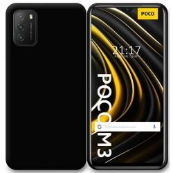Funda Silicona Gel TPU Negra para Xiaomi POCO M3 / Redmi 9T
