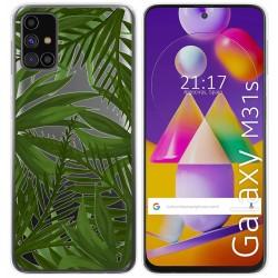 Funda Gel Transparente para Samsung Galaxy M31s diseño Jungla Dibujos