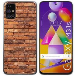 Funda Gel Tpu para Samsung Galaxy M31s diseño Ladrillo 04 Dibujos