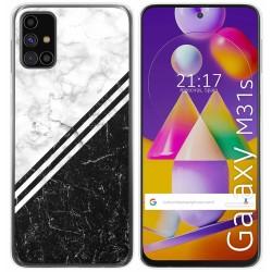 Funda Gel Tpu para Samsung Galaxy M31s diseño Mármol 01 Dibujos