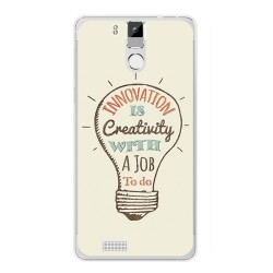 Funda Gel Tpu para Oukitel K6000 / K6000 Pro Diseño Creativity Dibujos