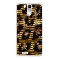 Funda Gel Tpu para Oukitel K6000 / K6000 Pro Diseño Leopardo Dibujos