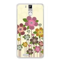 Funda Gel Tpu para Oukitel K6000 / K6000 Pro Diseño Primavera En Flor  Dibujos