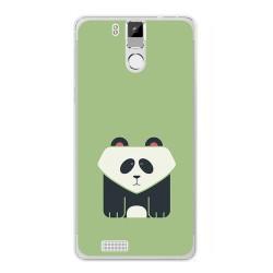 Funda Gel Tpu para Oukitel K6000 / K6000 Pro Diseño Panda Dibujos
