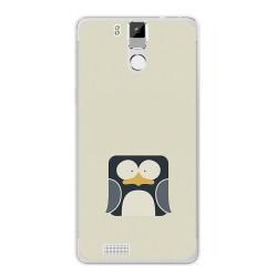 Funda Gel Tpu para Oukitel K6000 / K6000 Pro Diseño Pingüino Dibujos