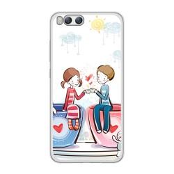 Funda Gel Tpu para Xiaomi Mi6 Diseño Cafe Dibujos