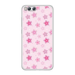 Funda Gel Tpu para Xiaomi Mi6 Diseño Flores Dibujos