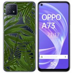Funda Gel Transparente para Oppo A73 5G diseño Jungla Dibujos