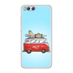 Funda Gel Tpu para Xiaomi Mi6 Diseño Furgoneta Dibujos