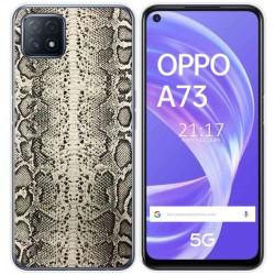 Funda Gel Tpu para Oppo A73 5G diseño Animal 01 Dibujos
