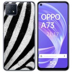 Funda Gel Tpu para Oppo A73 5G diseño Animal 02 Dibujos