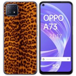 Funda Gel Tpu para Oppo A73 5G diseño Animal 03 Dibujos