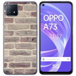 Funda Gel Tpu para Oppo A73 5G diseño Ladrillo 01 Dibujos