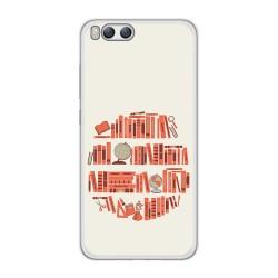 Funda Gel Tpu para Xiaomi Mi6 Diseño Mundo Libro Dibujos