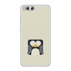 Funda Gel Tpu para Xiaomi Mi6 Diseño Pingüino Dibujos