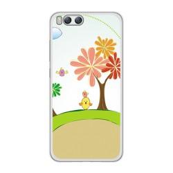 Funda Gel Tpu para Xiaomi Mi6 Diseño Primavera Dibujos