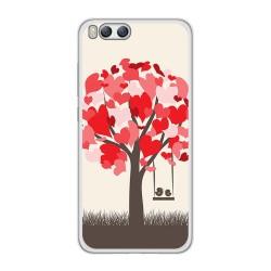 Funda Gel Tpu para Xiaomi Mi6 Diseño Pajaritos Dibujos