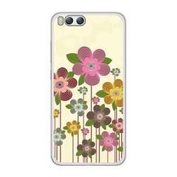Funda Gel Tpu para Xiaomi Mi6 Diseño Primavera En Flor Dibujos