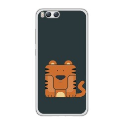 Funda Gel Tpu para Xiaomi Mi6 Diseño Tigre Dibujos