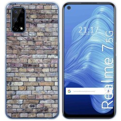 Funda Gel Tpu para Realme 7 5G diseño Ladrillo 02 Dibujos