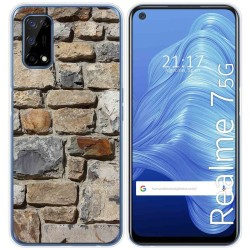 Funda Gel Tpu para Realme 7 5G diseño Ladrillo 03 Dibujos