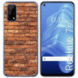Funda Gel Tpu para Realme 7 5G diseño Ladrillo 04 Dibujos