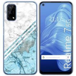 Funda Gel Tpu para Realme 7 5G diseño Mármol 02 Dibujos