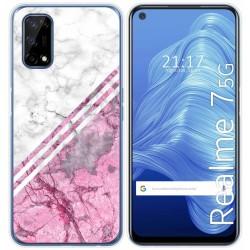 Funda Gel Tpu para Realme 7 5G diseño Mármol 03 Dibujos