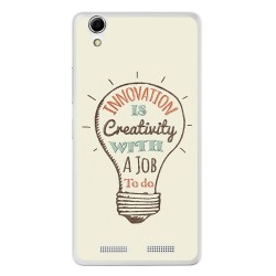 Funda Gel Tpu para Lenovo K10 Diseño Creativity Dibujos