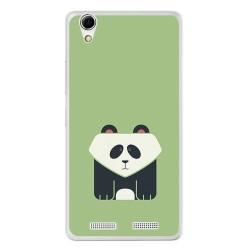 Funda Gel Tpu para Lenovo K10 Diseño Panda Dibujos