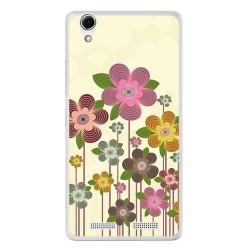 Funda Gel Tpu para Lenovo K10 Diseño Primavera En Flor Dibujos