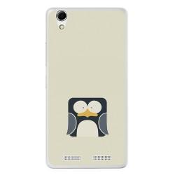 Funda Gel Tpu para Lenovo K10 Diseño Pingüino Dibujos