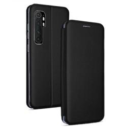 Funda Libro Soporte Magnética Elegance Negra para Xiaomi Mi Note 10 Lite