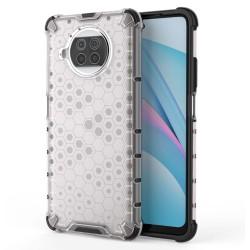 Funda Tipo Honeycomb Armor (Pc+Tpu) Transparente para Xiaomi Mi 10T Lite
