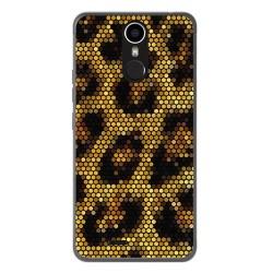 Funda Gel Tpu para Ulefone Metal Diseño Leopardo Dibujos