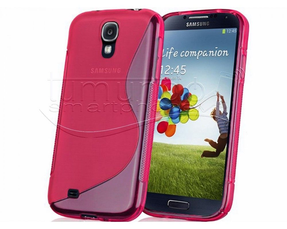 Funda Gel Tpu Samsung Galaxy S4 Mini I9190 S Line Color Rosa