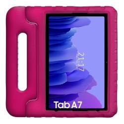 Funda Infantil Antigolpes con Asa para Samsung Galaxy Tab A7 (2020) T500 color Rosa